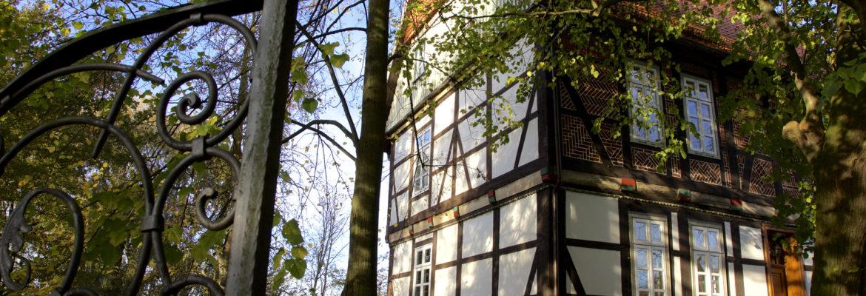 Erholung pur vor dem sommerlichen Gallhof Schaumburg