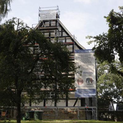 Der Gallhof wird für das 350jährige Jubiläum gerüstet