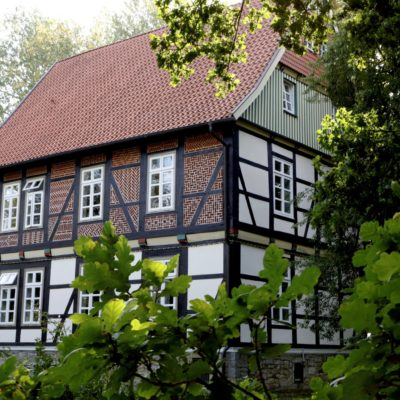 Das Gerüst ist weg - die Fassade des Gallhofs ist frisch und harmonisch gestaltet